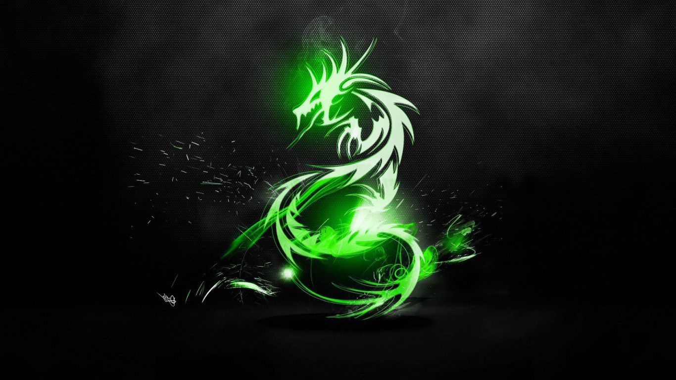 Top 50 HD Dragon Wallpapers Images Backgrounds Desktop 1366x768