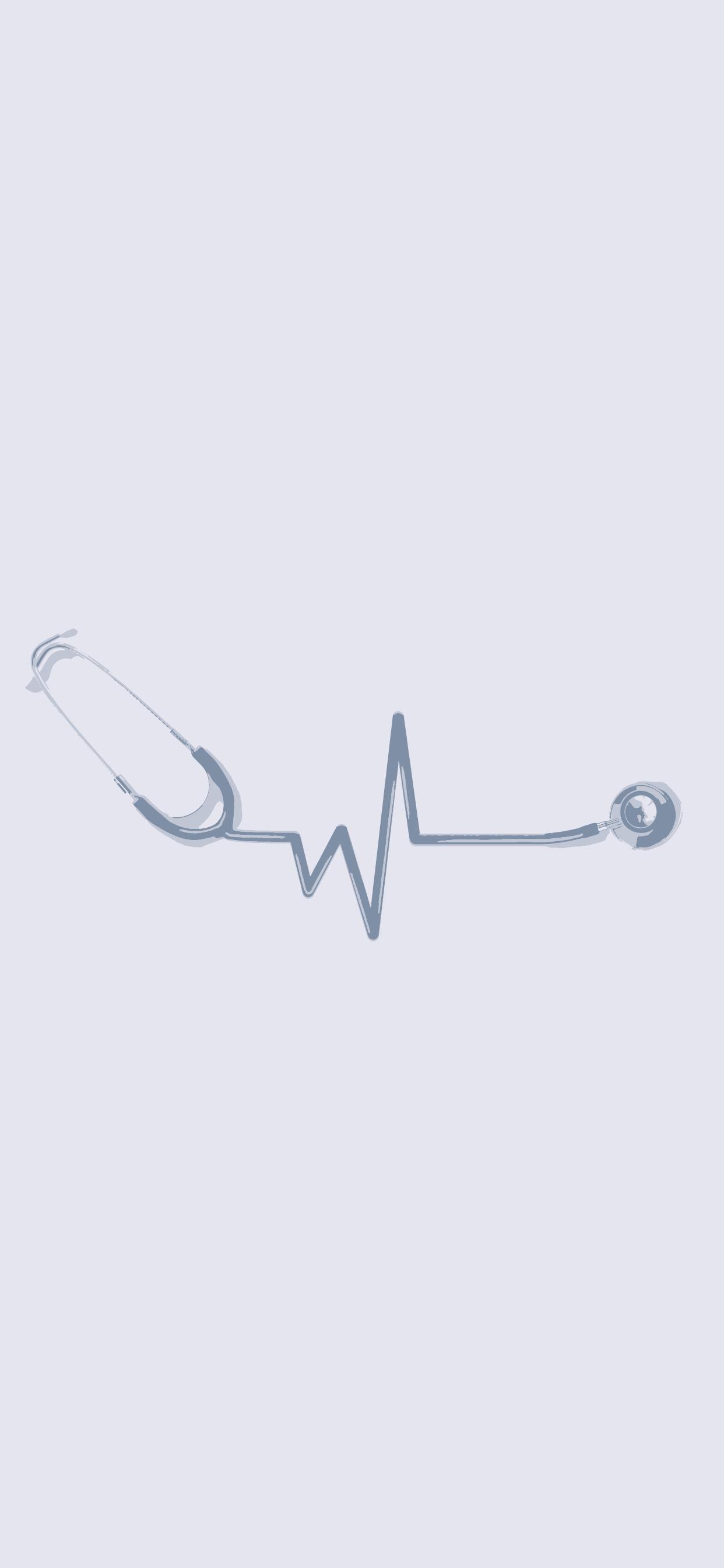 Medical wallpaper   stethoscope 1242x2688