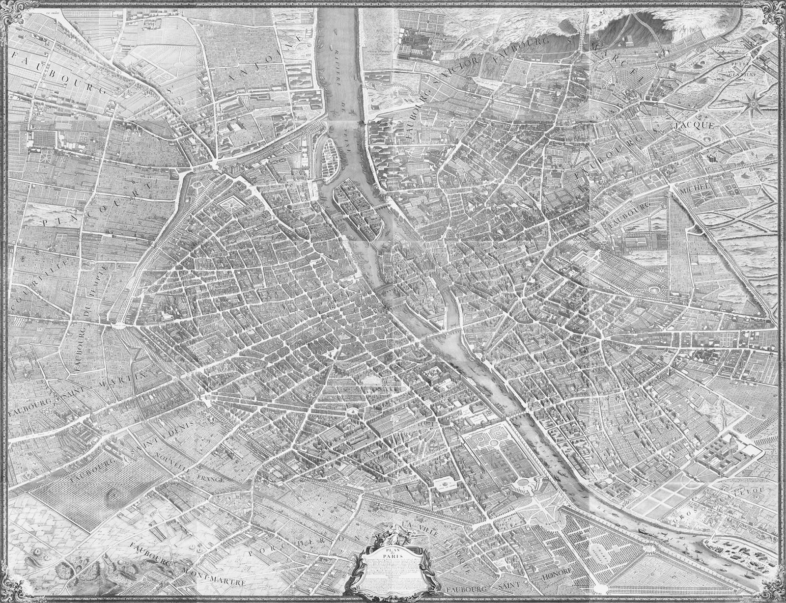 45 Map Of Paris Wallpaper On Wallpapersafari