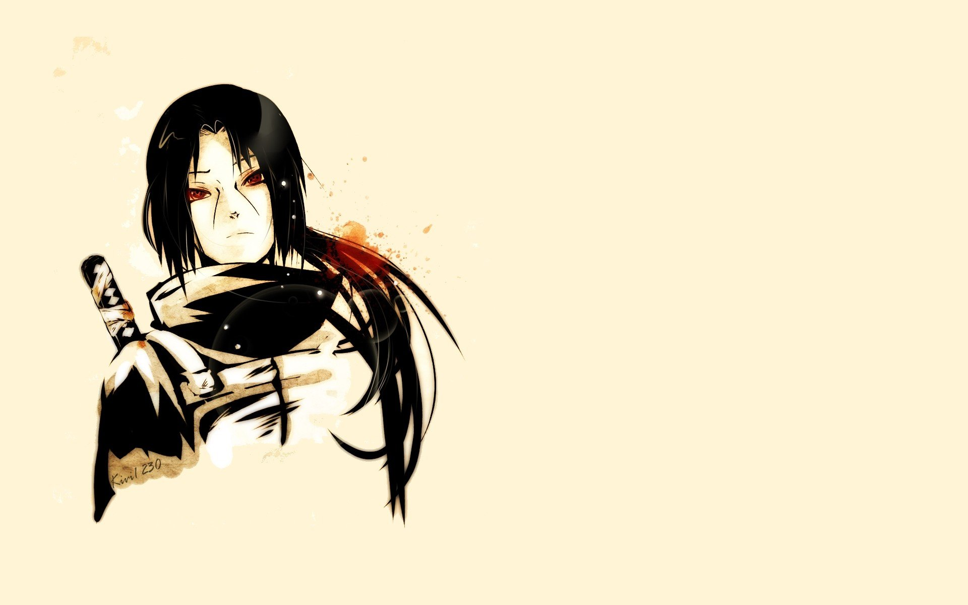 Itachi Wallpaper White Background Anime Best Images