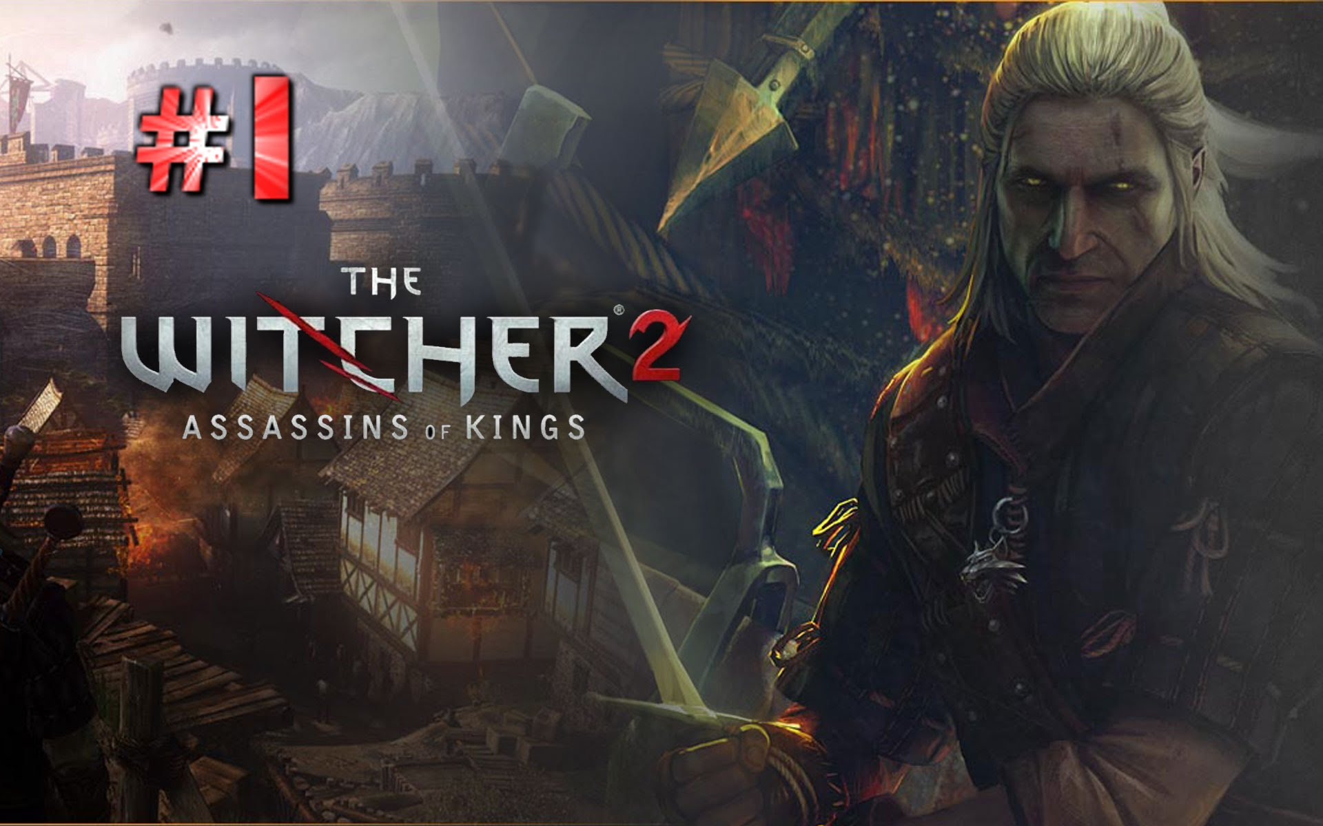The Witcher 2 Assassins Of Kings HD Wallpapers and Background 1920x1200