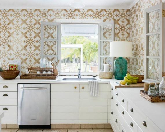 Spanish Tiles   Transitional   kitchen   Tom Scheerer 570x454