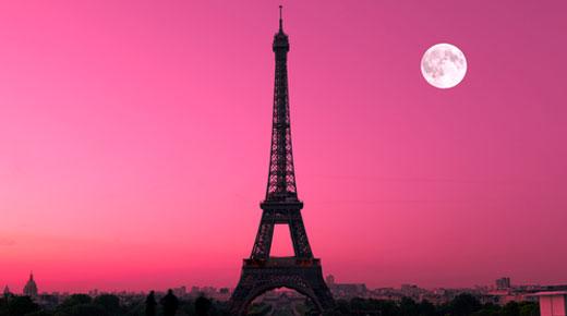 Paris In Pink Wallpaper Wallpapersafari