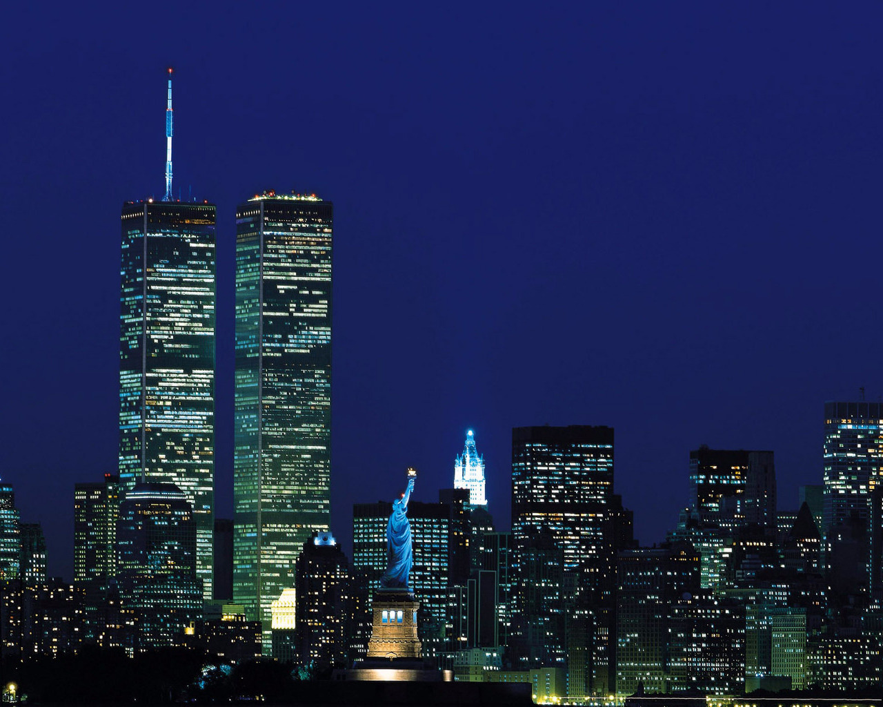 New York Night Wallpaper 1280x1024