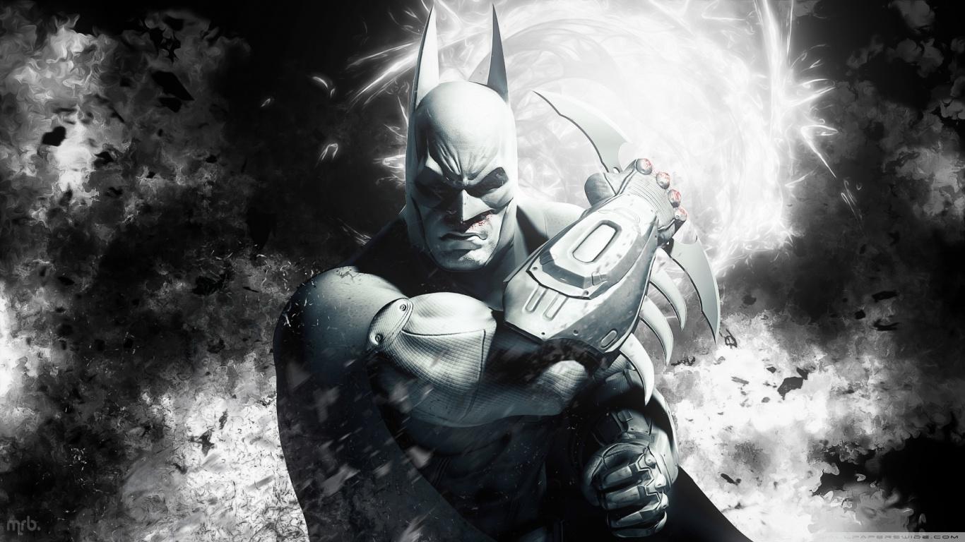Image   Batman arkham city hd wallpaper 1366x768jpg   Ultra Dragon 1366x768