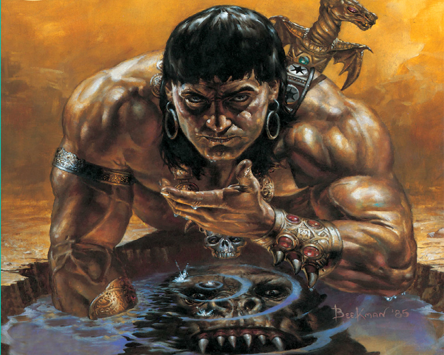 CONAN THE BARBARIAN l wallpaper background 1440x1150