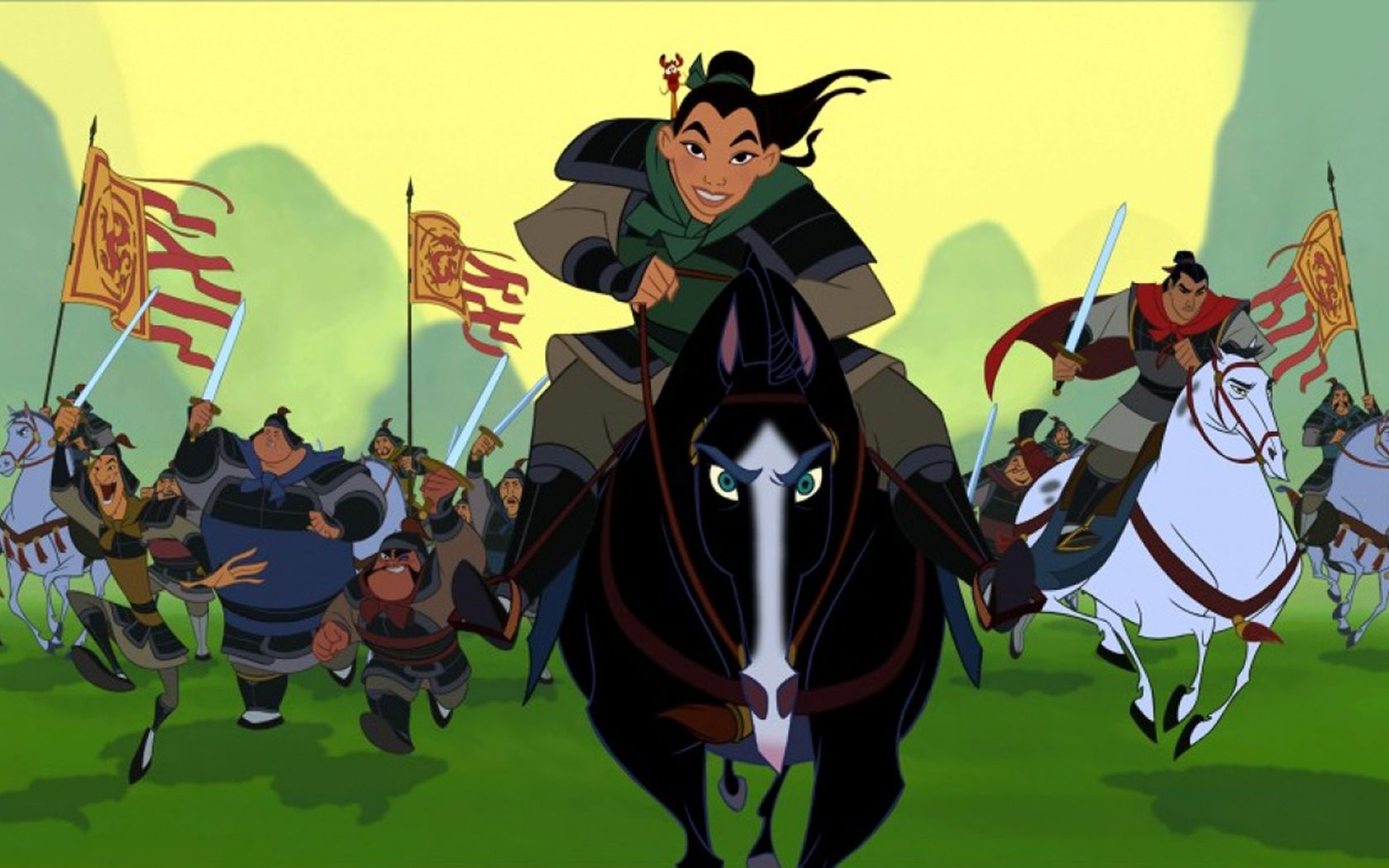 Full Resolution Mulan Background Wallpapers for 1680x1050