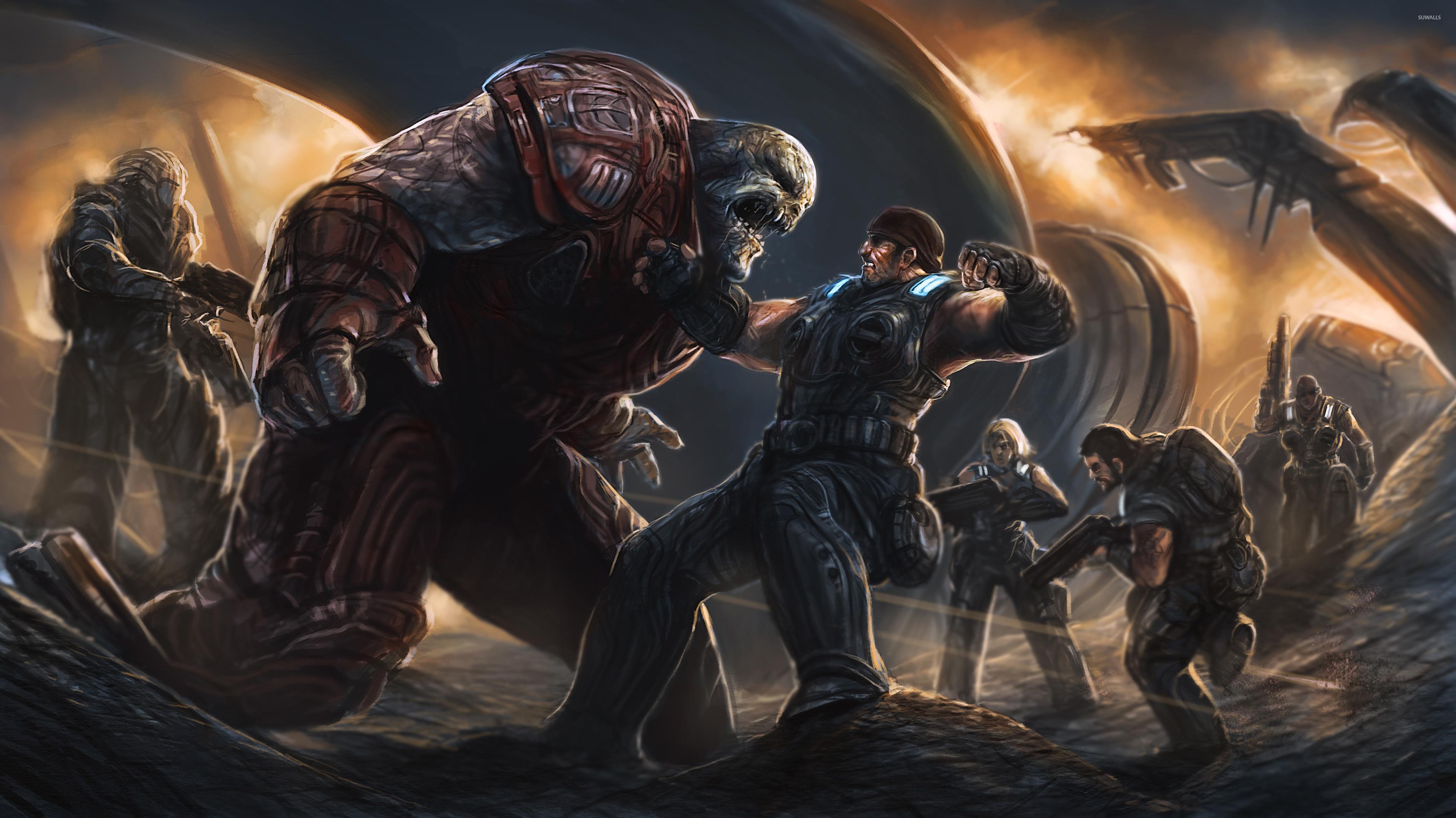 Gears Of War 4 2016 Video Game 4k Hd Desktop Wallpaper For: Gears Of War 4 Wallpaper