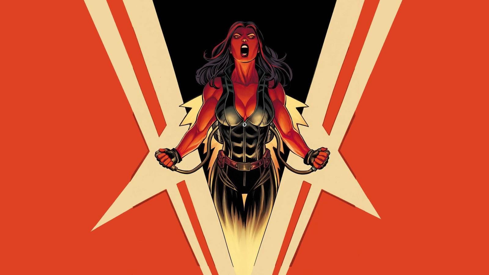 Red She Hulk Wallpaper Wallpapersafari