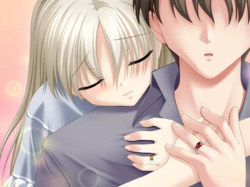 images Anime love ANIME LOVE HUG HD Wallpaper HD Pictures 500x375