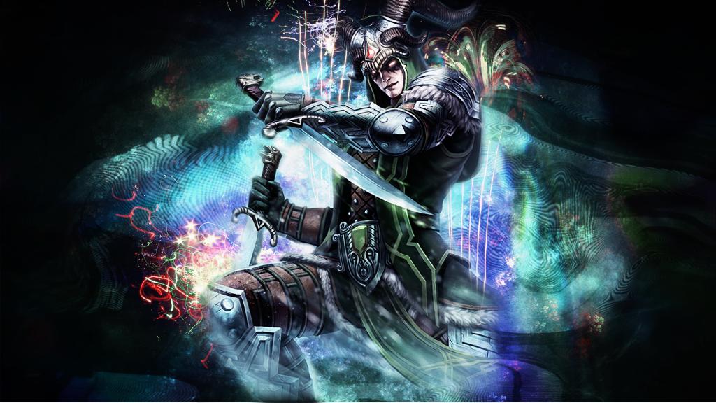 Loki Wallpaper   SMITE by NemesisVictim 1024x576
