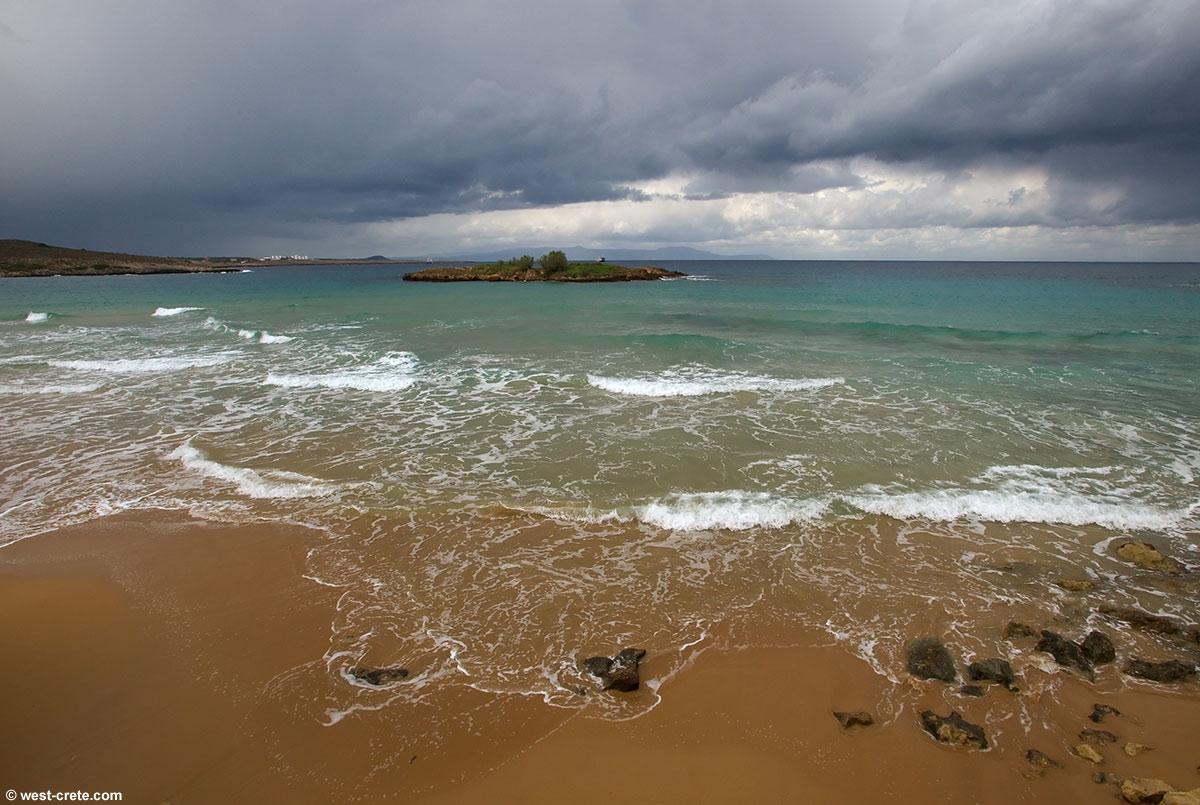 Thunderstorm Beach Wallpaper Thunderstorm weather kalathas 1200x805