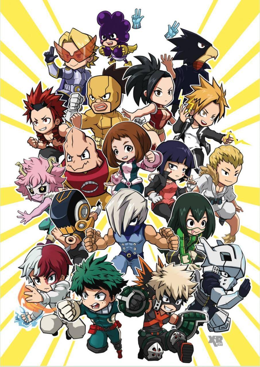 My Hero Academia Chibi Wallpapers 906x1280