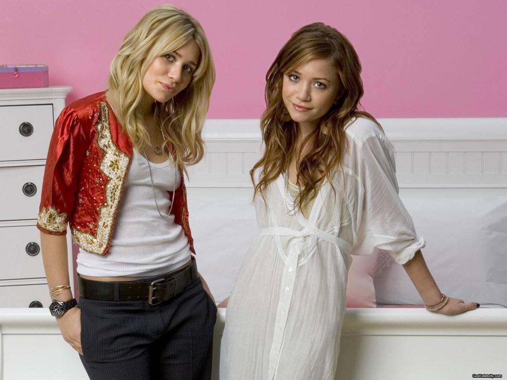 Hotties Wallpapers Olsen Twins Hot Wallpapers 1024x768