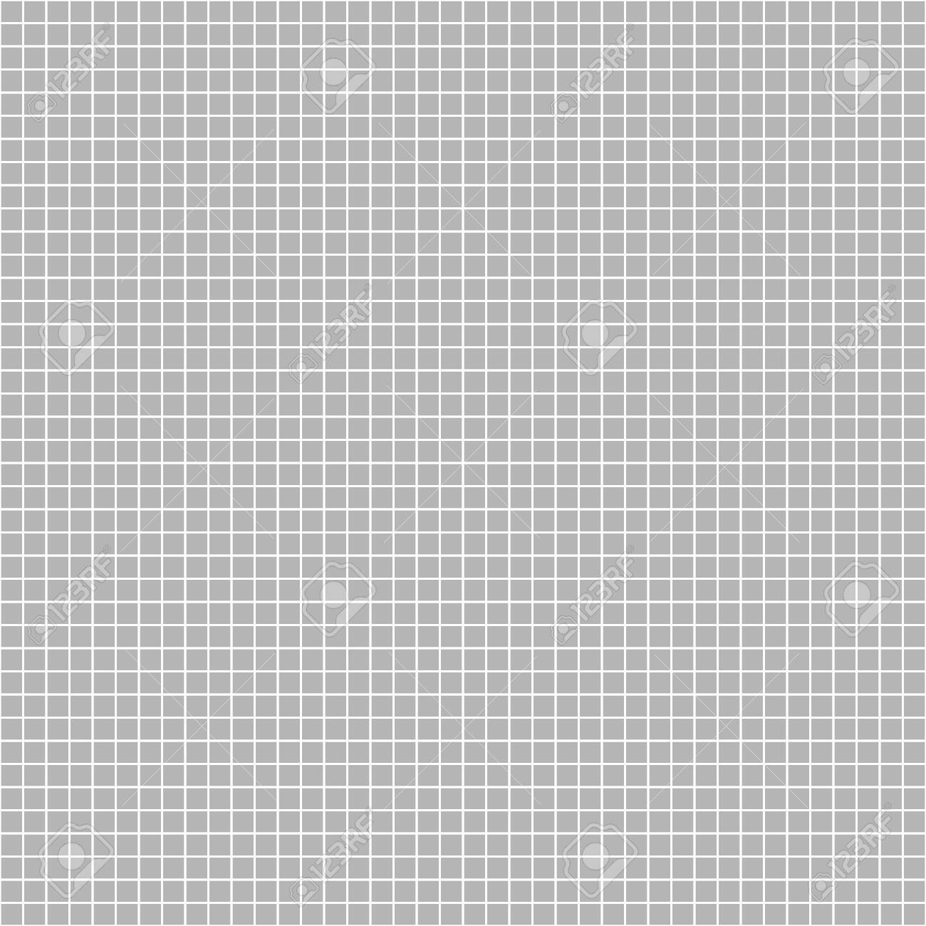 Seamless Grey Mosaic Grid On White Background Stock Photo Picture 1300x1300