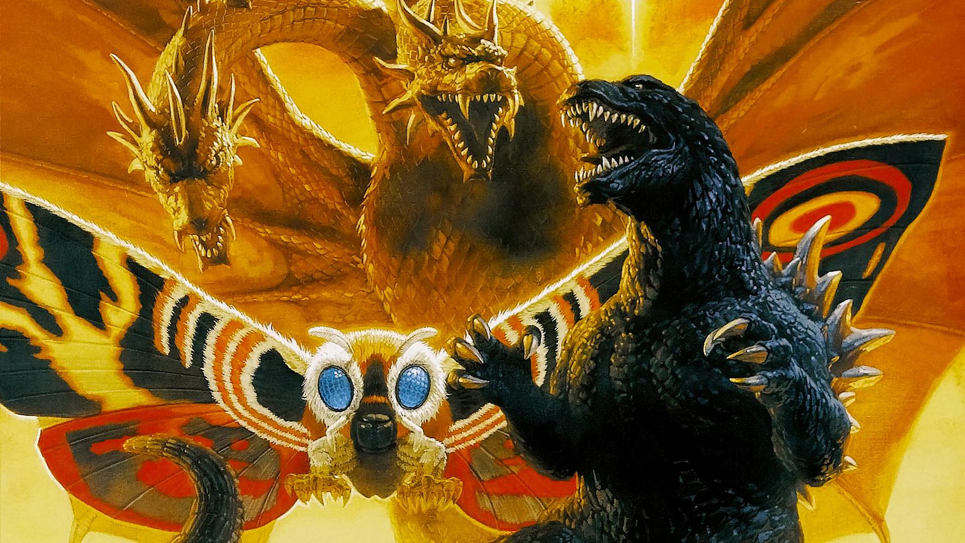Godzilla images Godzilla Mothra and King Ghidorah Wallpaper wallpaper 1920x1080