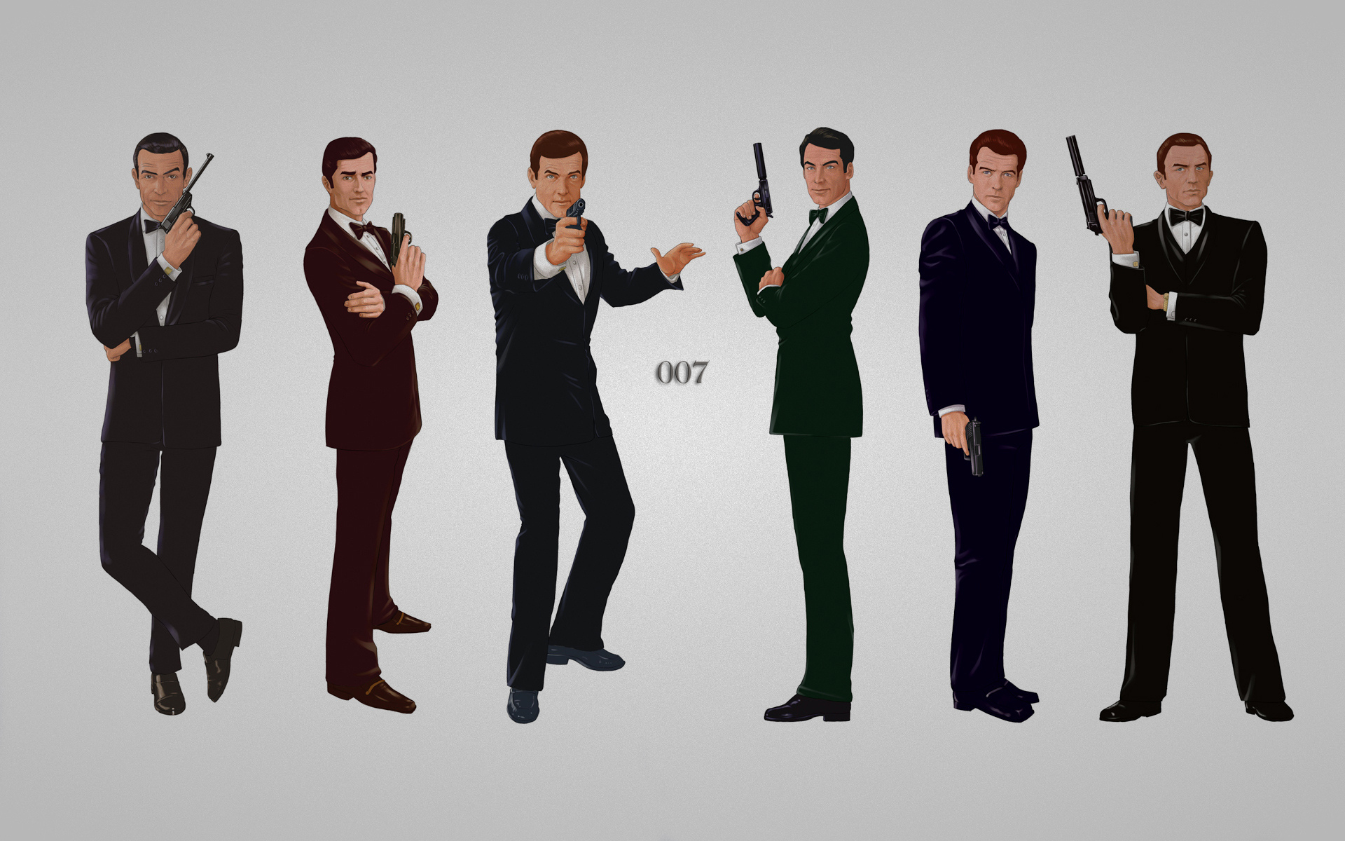 James Bond 007 weapons guns wallpaper 1920x1200 47121 1920x1200