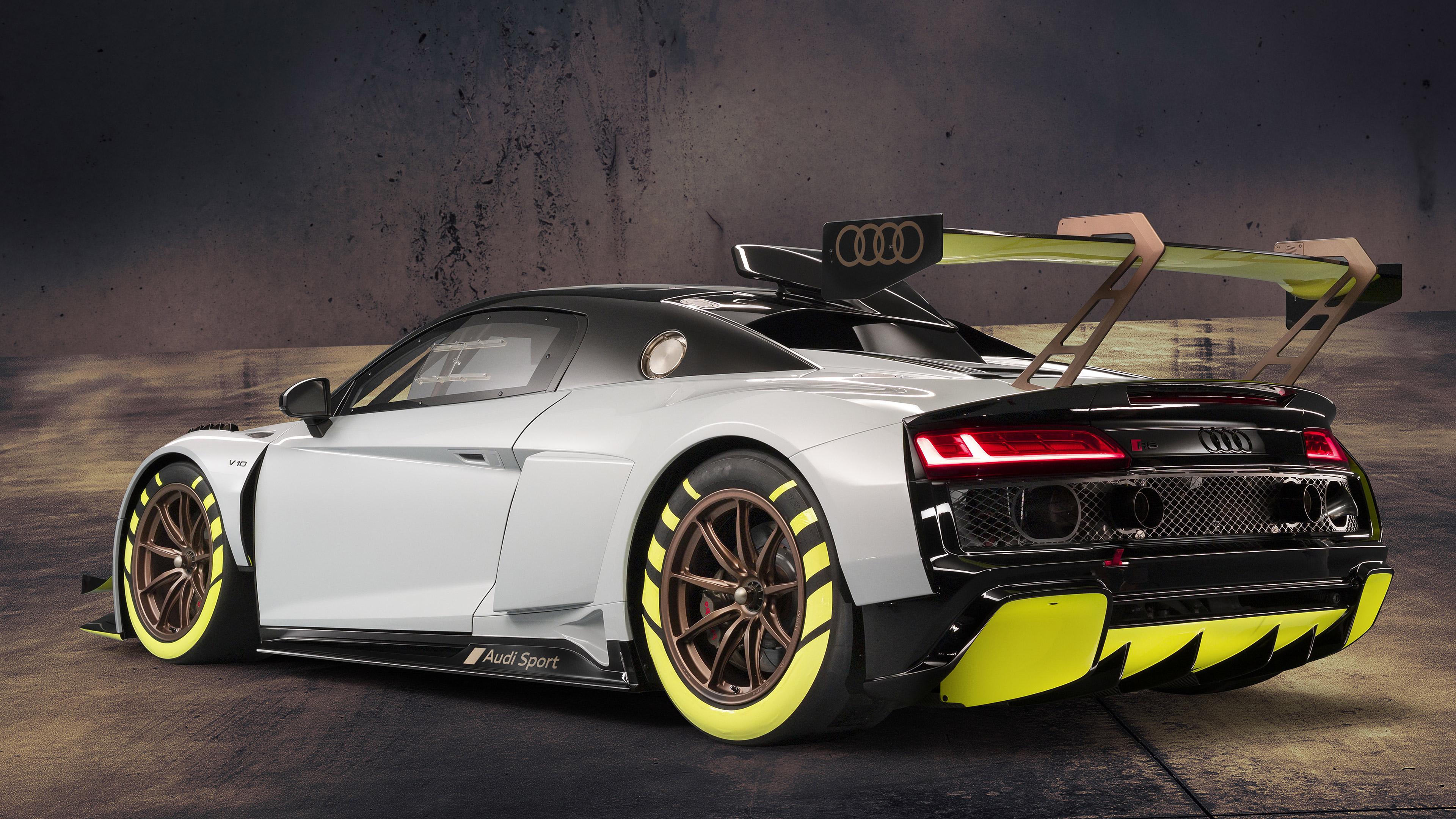 2020 Audi R8 LMS GT2 4k Ultra HD Wallpaper Background Image 3840x2160