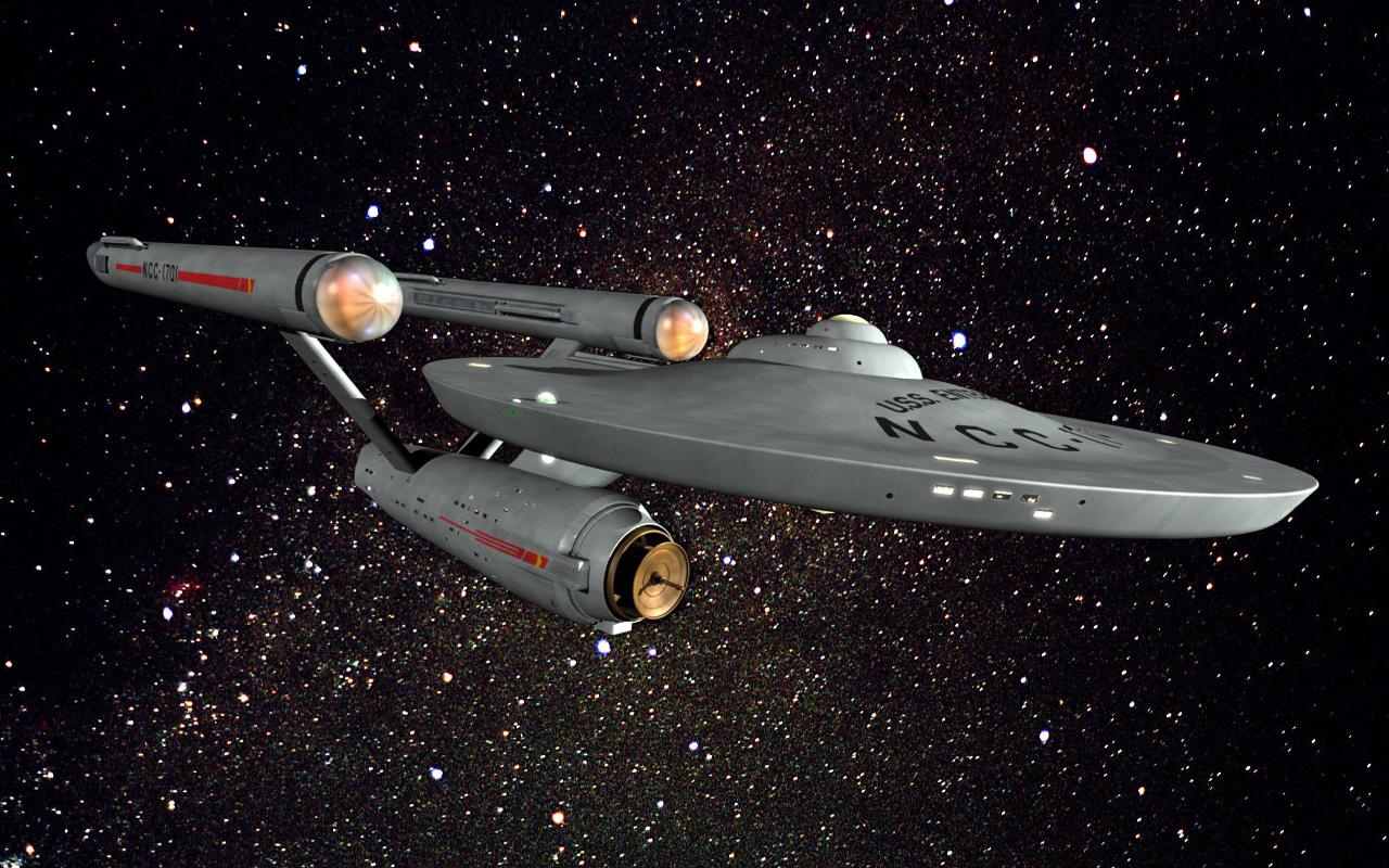 The replacement Enterprise circa Star Trek V NCC 1701 A 1280x800