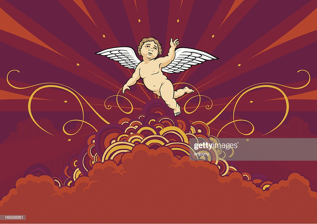Cherub Background High Res Vector Graphic   Getty Images 1024x725