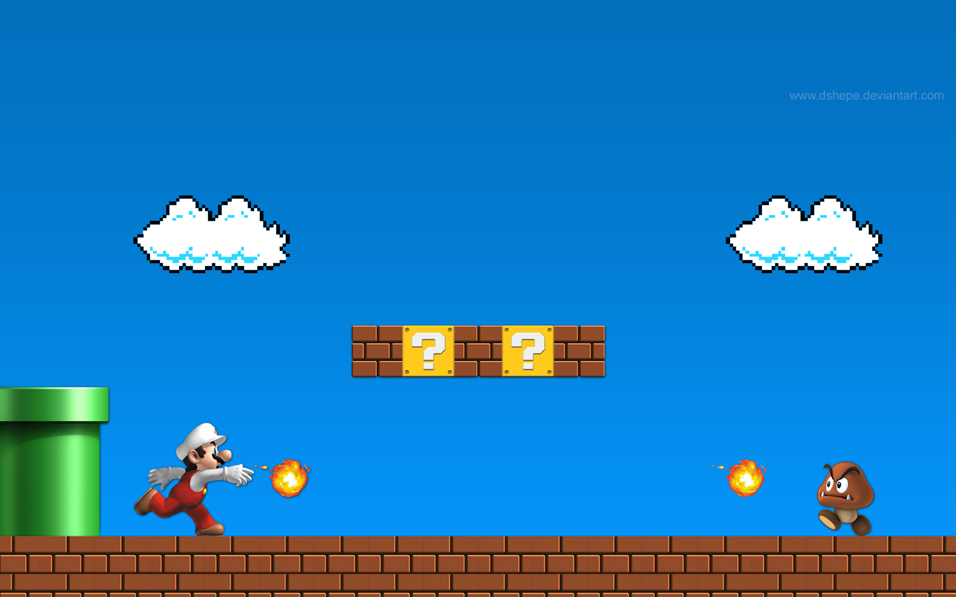 Super Mario Bros HD Wallpapers and Background Images   stmednet 1920x1200