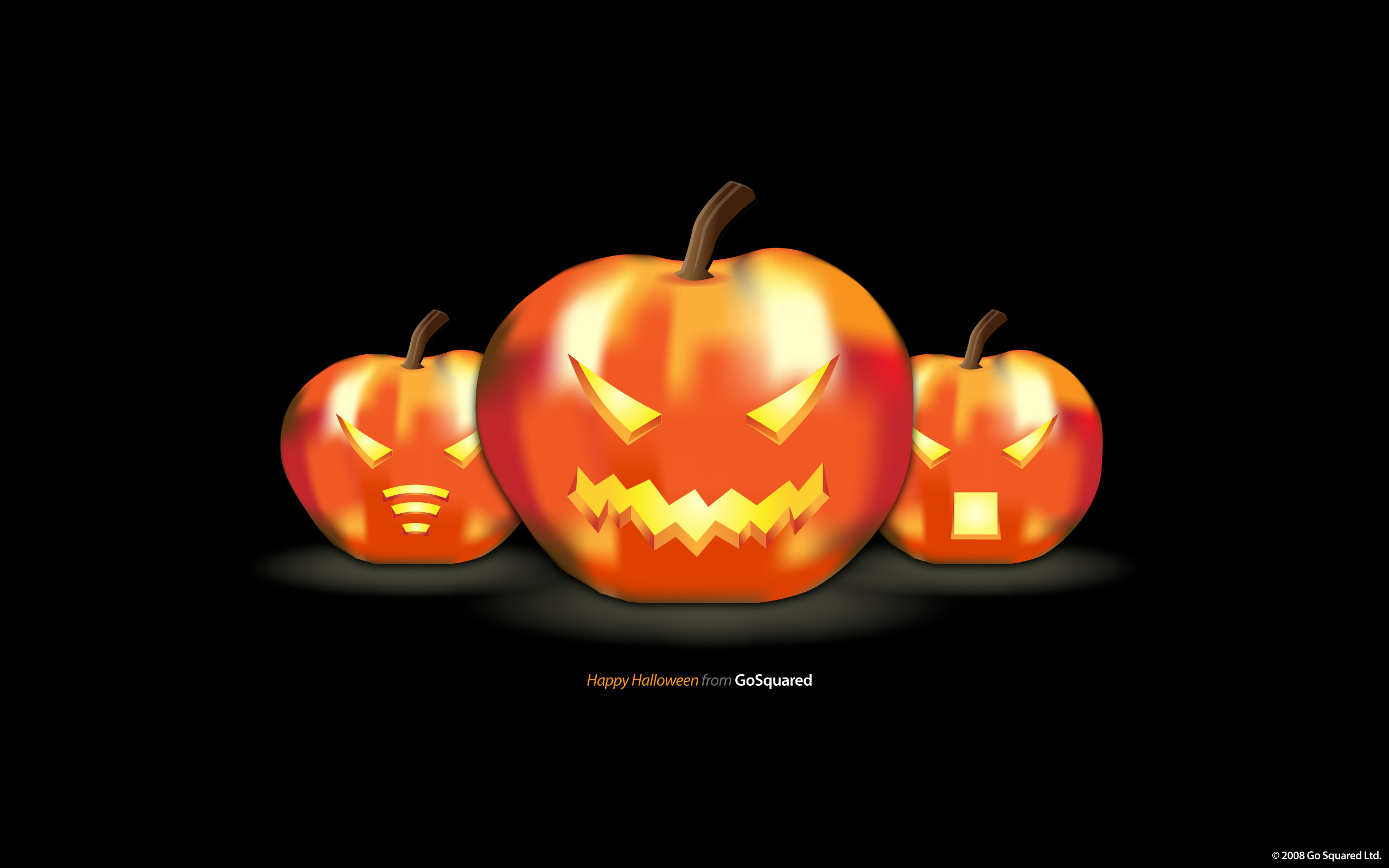 Have a Happy Halloween Wallpaper   GoSquared Blog 2560x1600