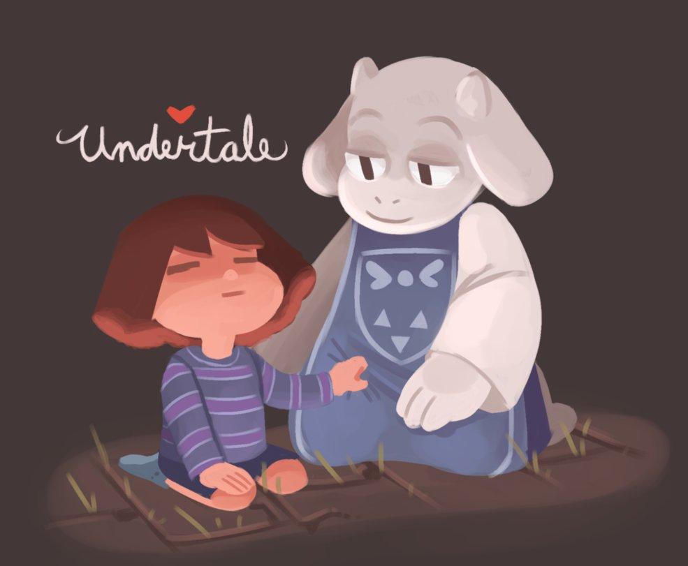 undertale by sleepyskitty 985x811