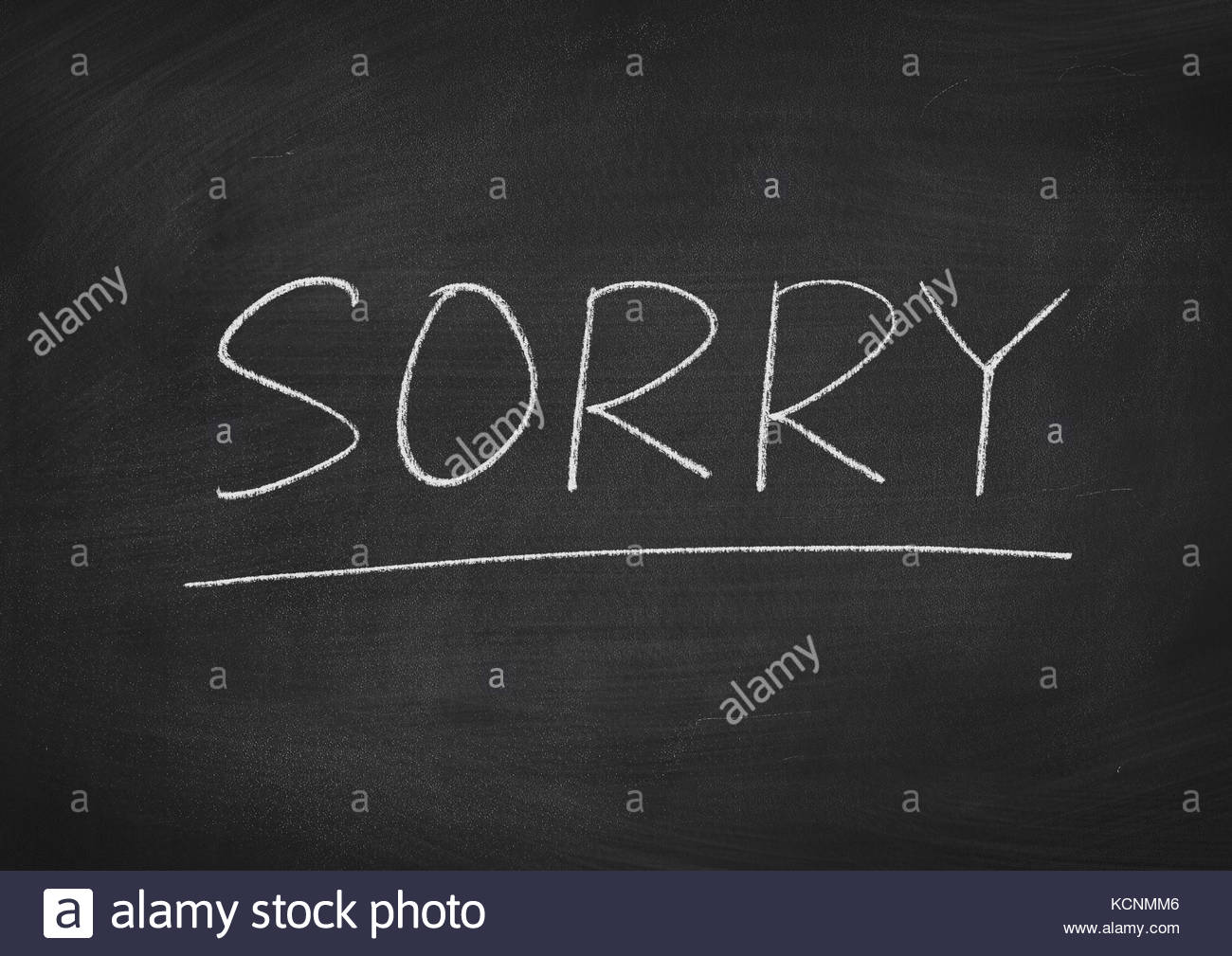 sorry concept word on a blackboard background Stock Photo 1300x1009