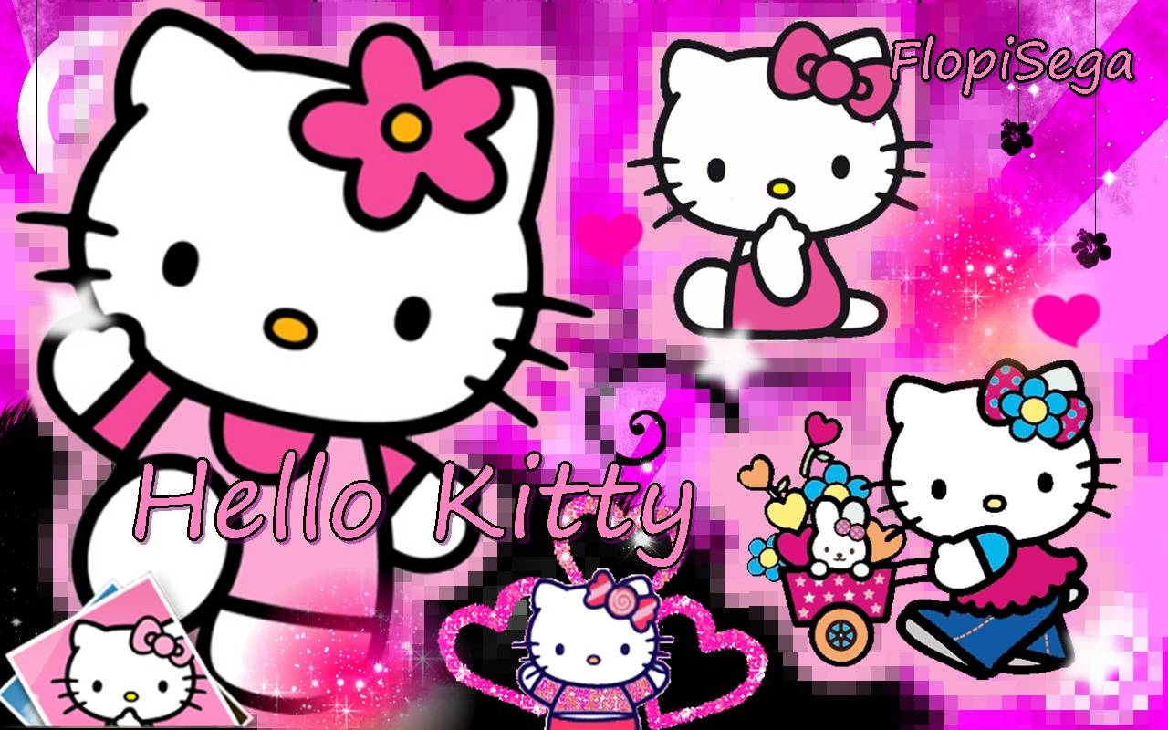 75 ] Pink Hello Kitty Background On WallpaperSafari