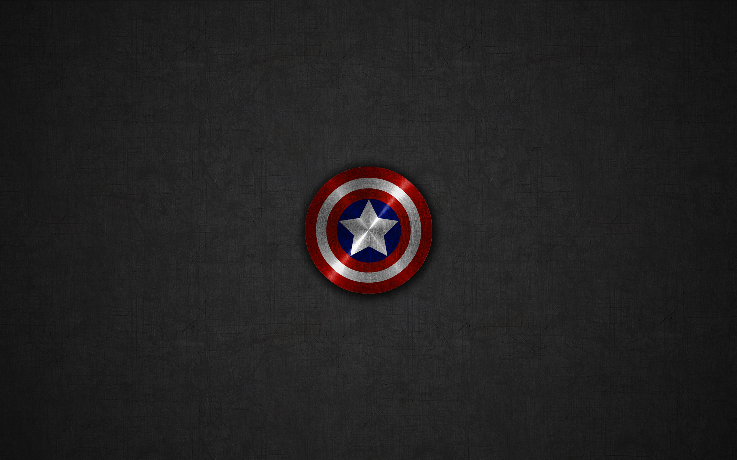Captain america shield marvel dark jawzf awesome wallpapers 2560x1600