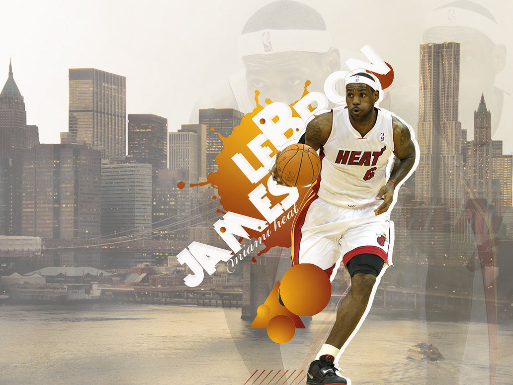 lebron james wallpaper by onemicGfx 1032x774