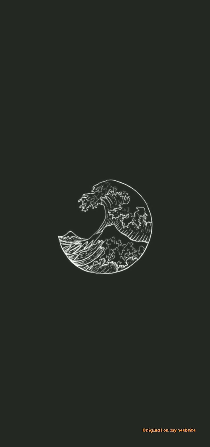 Account Suspended Drawing wallpaper Black aesthetic wallpaper 736x1569