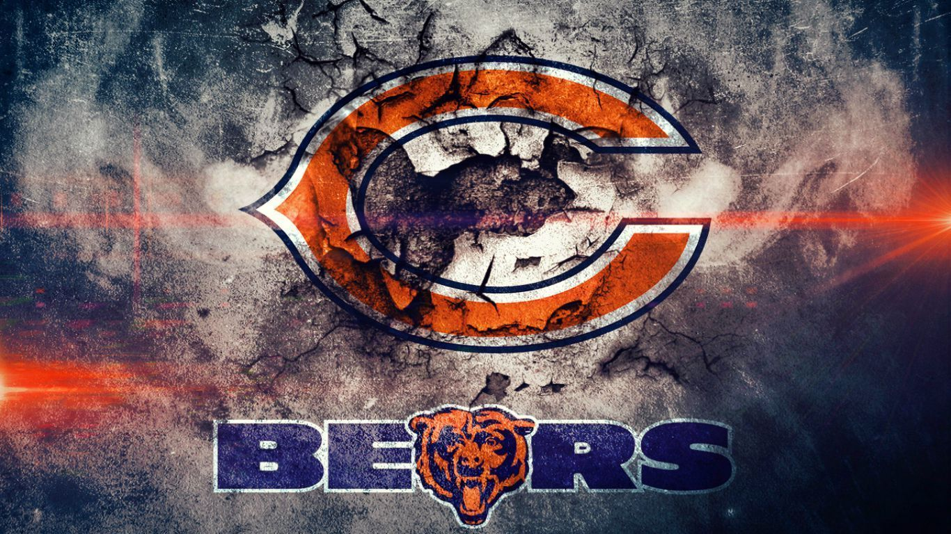 Chicago Bears Hd Wallpapers Wallpapers Top 10 1366x768