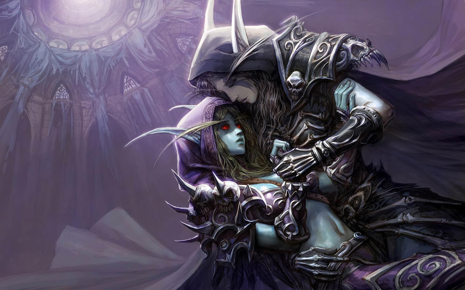Warcraft Dark Lady Elf Wallpaper High Definition HD Games Wallpaper 1920x1200