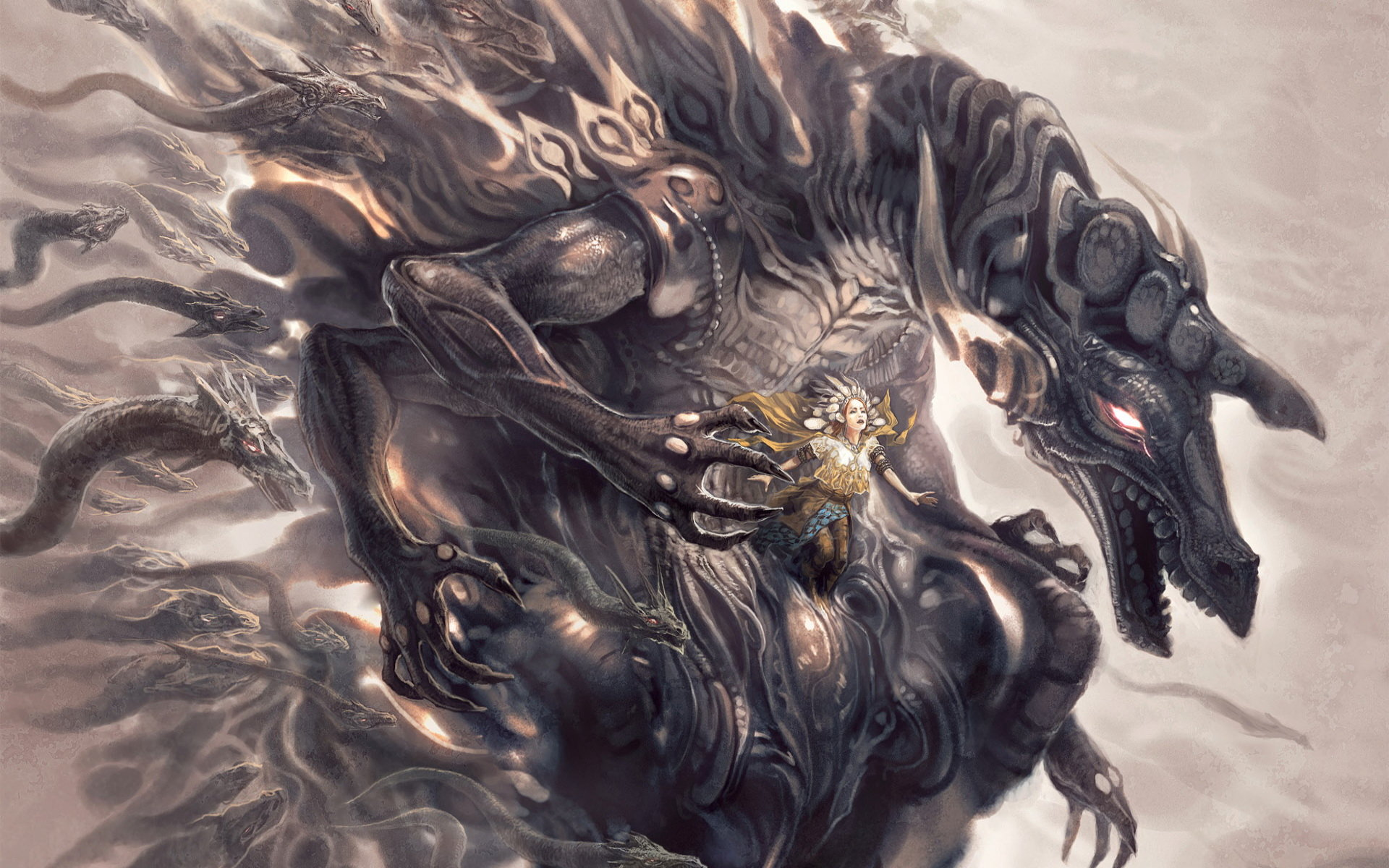 Fantasy Dragon desktop wallpaper 1920x1200