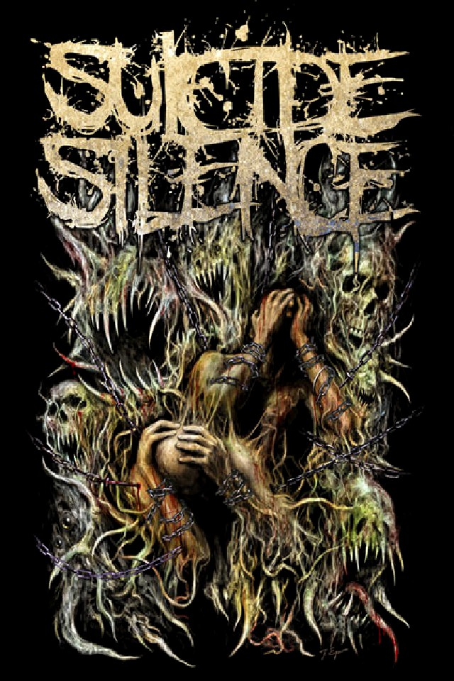 suicide silence wallpaper background wallpapersafari