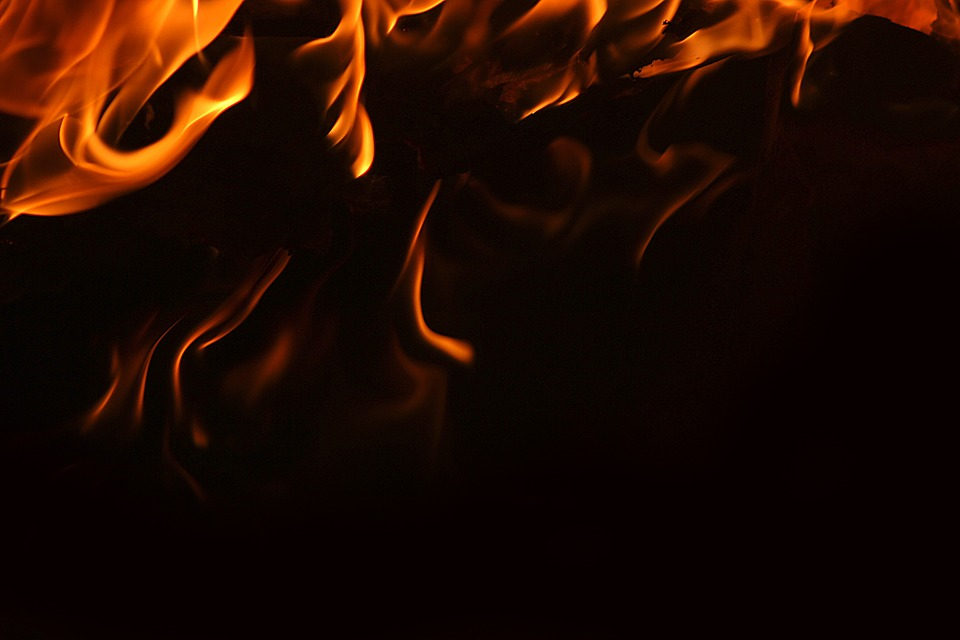 photo Background Inferno Blazing Hot Black Fire Flame   Max Pixel 960x640