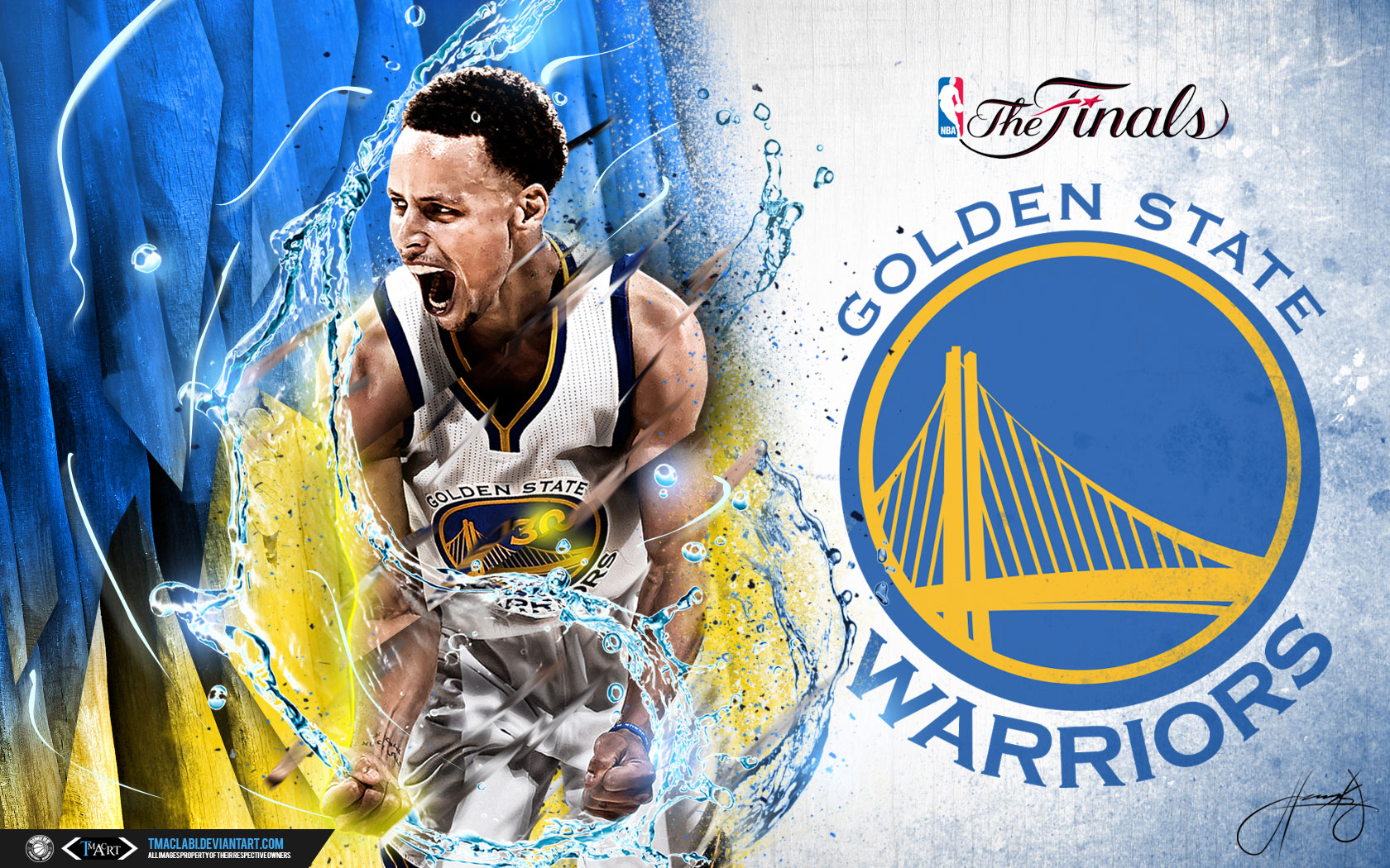 Stephen Curry 2017 NBA Finals 16801050 Wallpaper 1680x1050