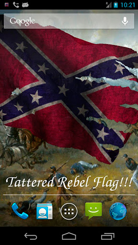 Rebel flag   Live wallpaper screenshots How does it look Rebel flag 281x500