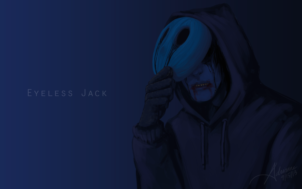 Eyeless Jack Wallpaper by SUCHanARTIST13 creepy 1024x640