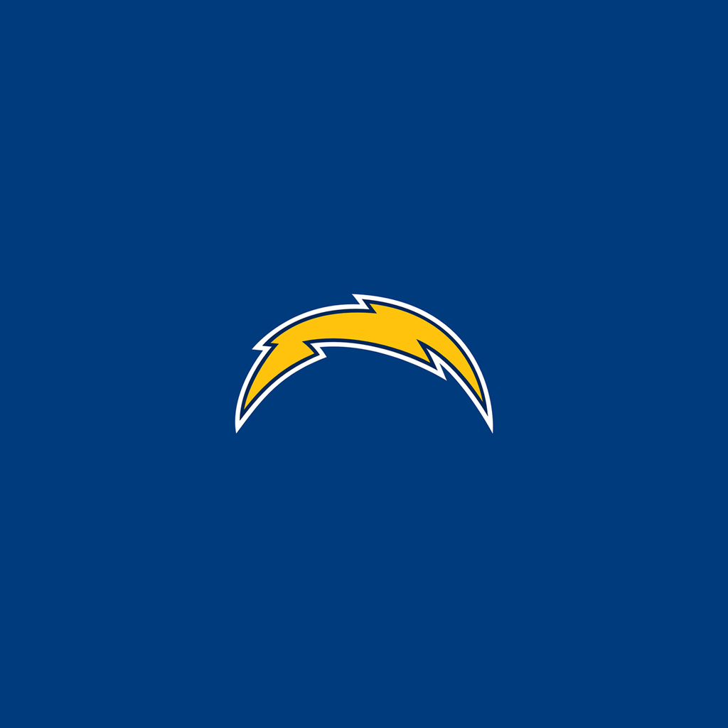 iPad Wallpapers with the San Diego Chargers Team Logos Digital 1024x1024