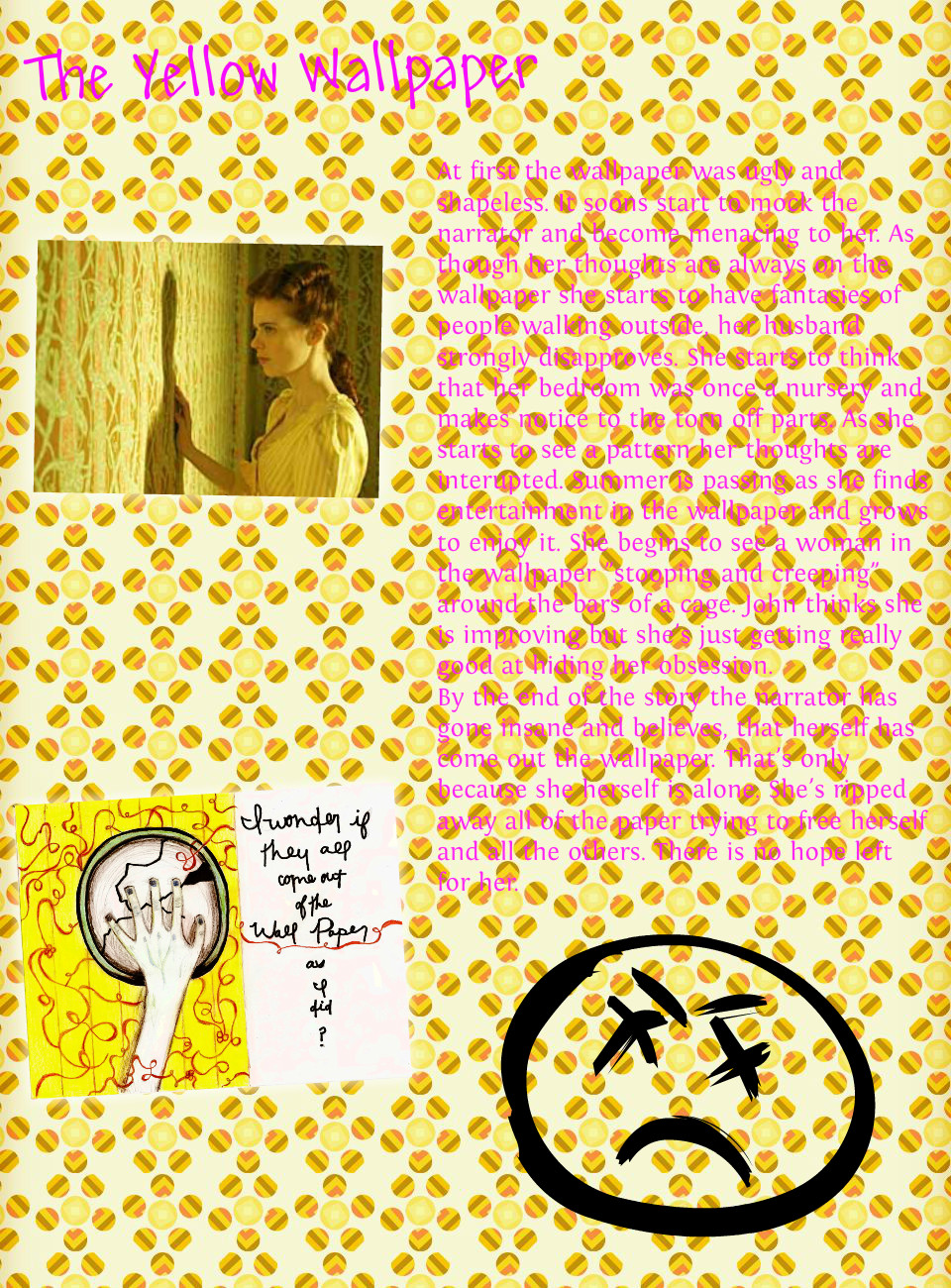 48 The Yellow Wallpaper Unreliable Narrator On
