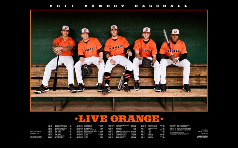 baseball cowboys Oklahoma State baseball 2011 schedule Sports Baseball 800x500