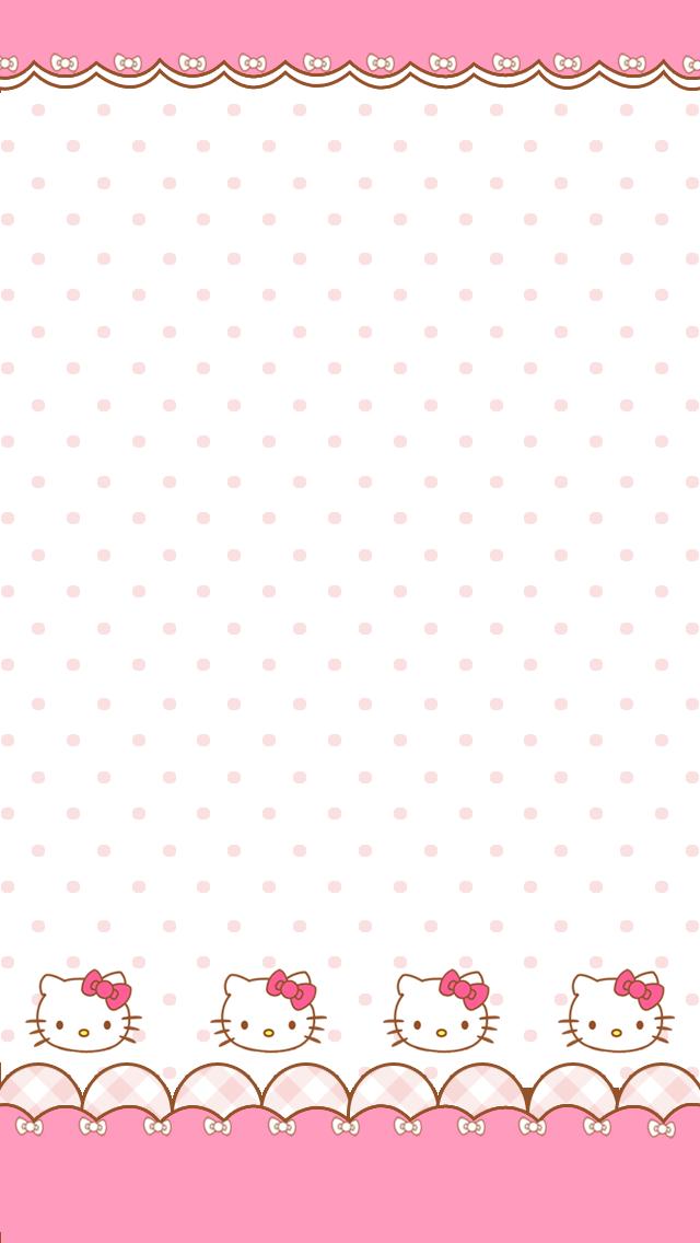 50 Iphone Wallpaper Hello Kitty On Wallpapersafari