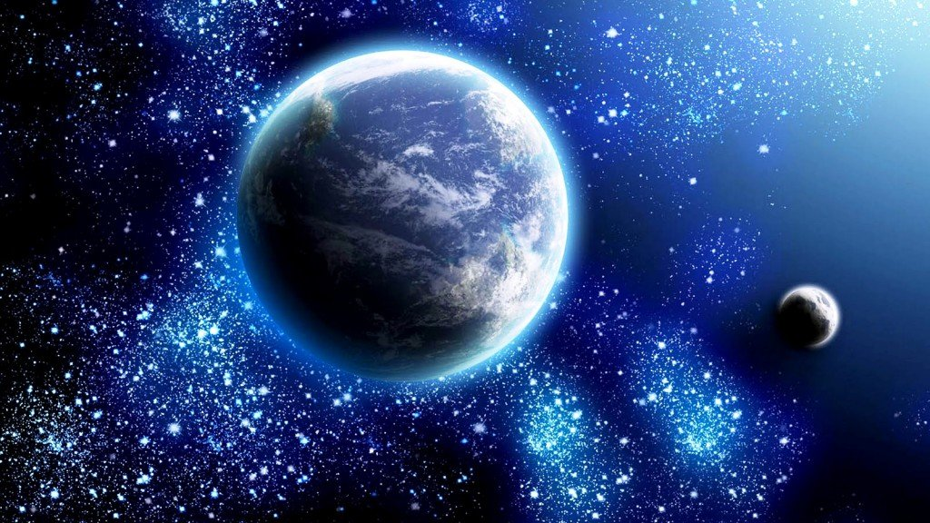 Beautiful Blue Space Wallpaper photos of Beautiful Space Wallpaper by 1024x576