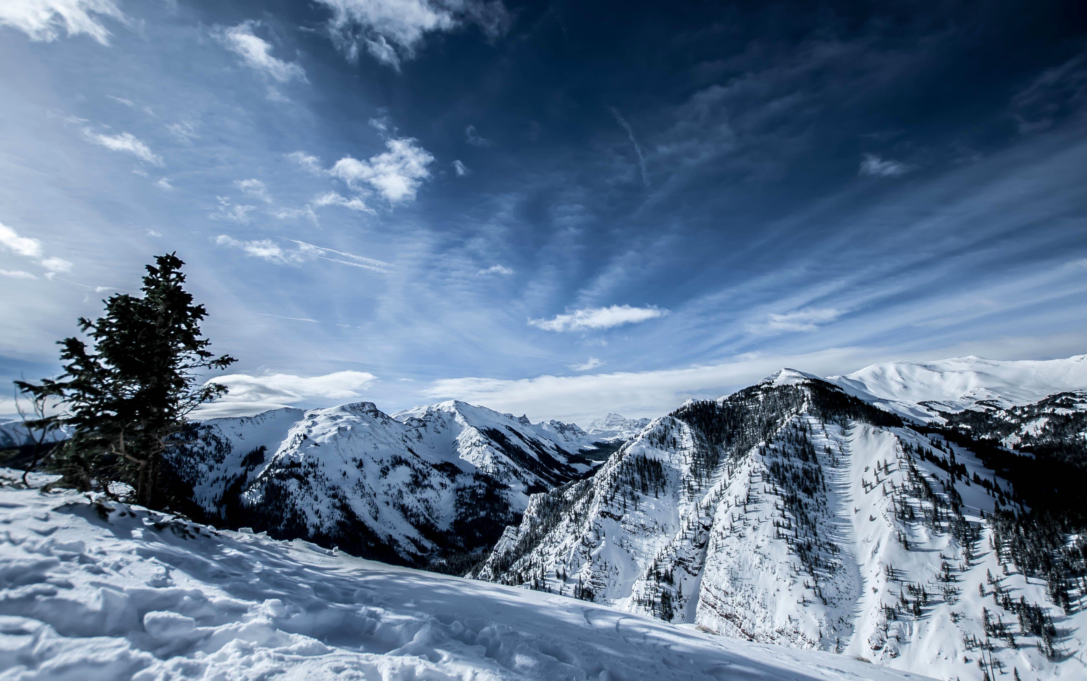 Winter In The Rockies Wallpaper Wallpapersafari