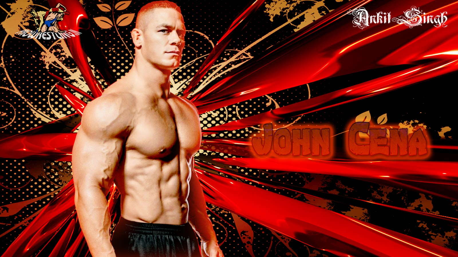 Wallpaper Download John Cena HD Wallpaper 2014 Created By Ankit 1600x900