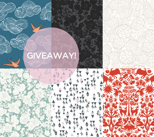 GIVEAWAY Removable Wallpaper from Hygge West Manhattan Nest 600x534