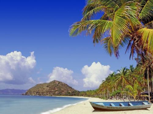 Animated Beach Wallpaper 500x375
