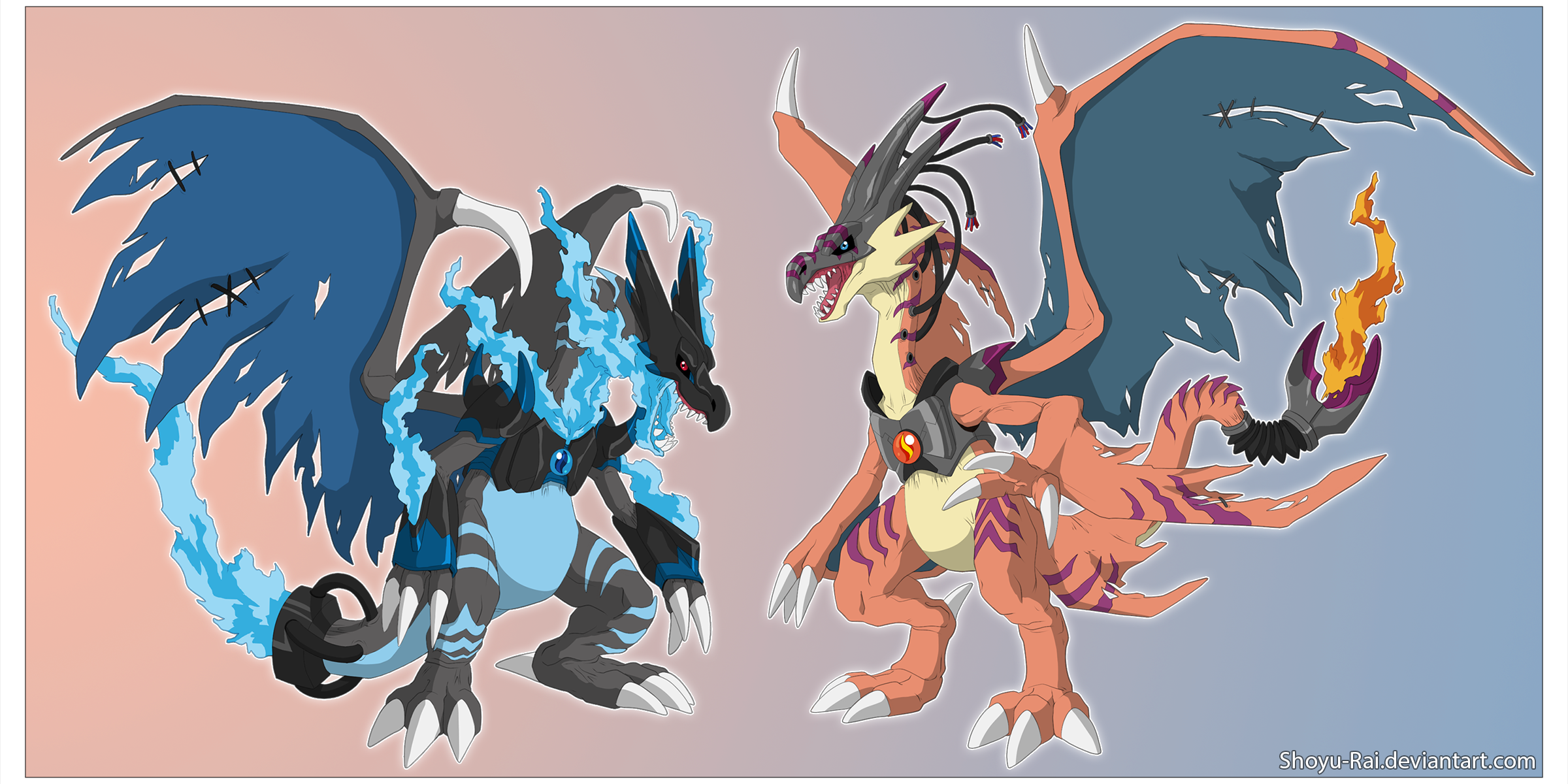 Pokemon Mega Charizard X Wallpaper